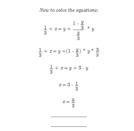 equation part 2